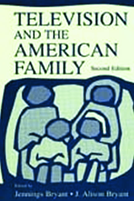 Television and the American Family: 2nd Edition (Hardback) book cover