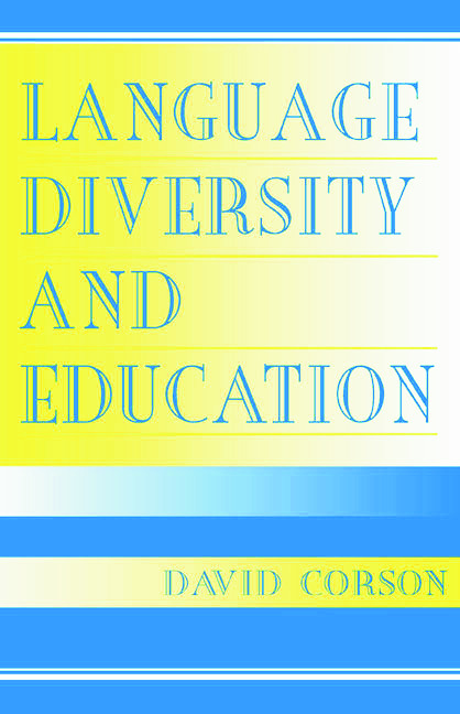 Language Diversity and Education (Paperback) book cover