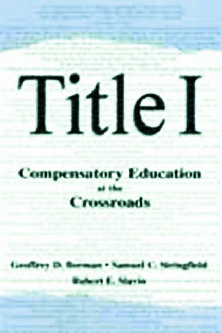 Title I: Compensatory Education at the Crossroads book cover