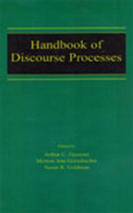 Handbook of Discourse Processes book cover