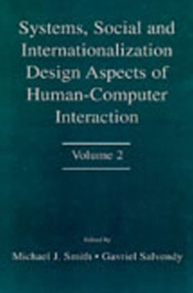 Systems, Social, and Internationalization Design Aspects of Human-computer Interaction: Volume 2 book cover
