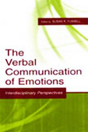 The Verbal Communication of Emotions