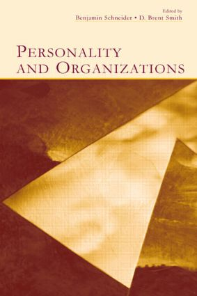 Personality and Organizations (Hardback) book cover