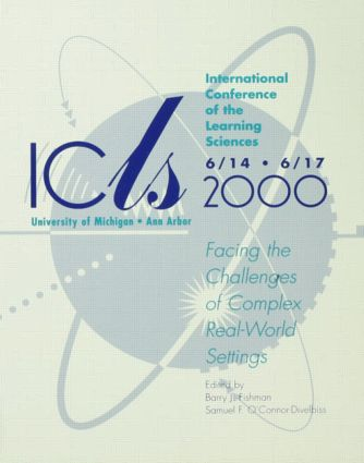 International Conference of the Learning Sciences: Facing the Challenges of Complex Real-world Settings, 1st Edition (Paperback) book cover