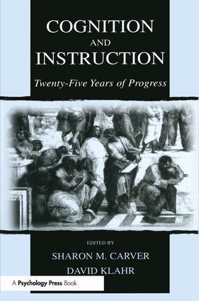 Cognition and Instruction: Twenty-five Years of Progress (Paperback) book cover