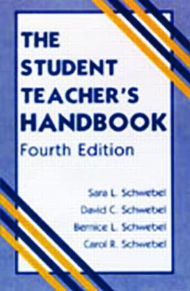 The Student Teacher's Handbook: 4th Edition (Paperback) book cover