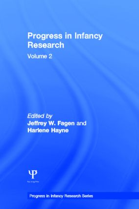 Progress in infancy Research: Volume 2 (Hardback) book cover