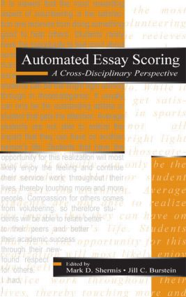 Automated Essay Scoring: A Cross-disciplinary Perspective (Hardback) book cover