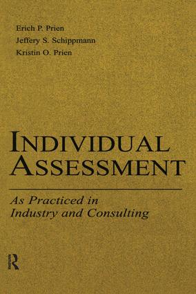 Individual Assessment: As Practiced in Industry and Consulting book cover