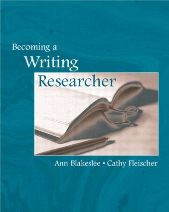 Becoming a Writing Researcher (Paperback) book cover