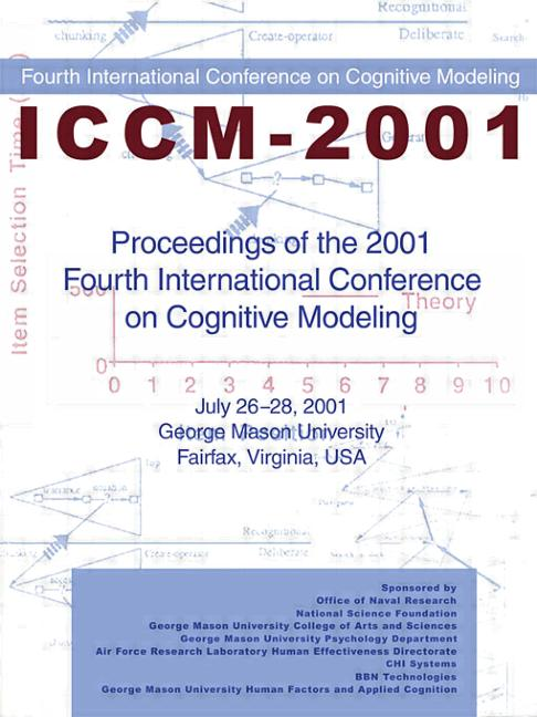 Proceedings of the 2001 Fourth International Conference on Cognitive Modeling (Paperback) book cover