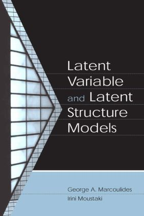 Latent Variable and Latent Structure Models (Hardback) book cover