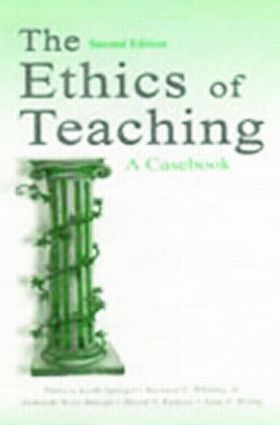 The Ethics of Teaching: A Casebook, 2nd Edition (e-Book) book cover