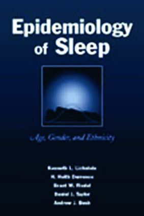 Epidemiology of Sleep: Age, Gender, and Ethnicity (Paperback) book cover
