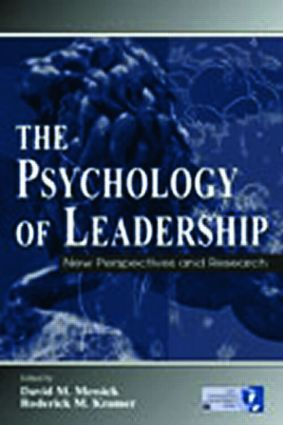 The Psychology of Leadership: New Perspectives and Research book cover
