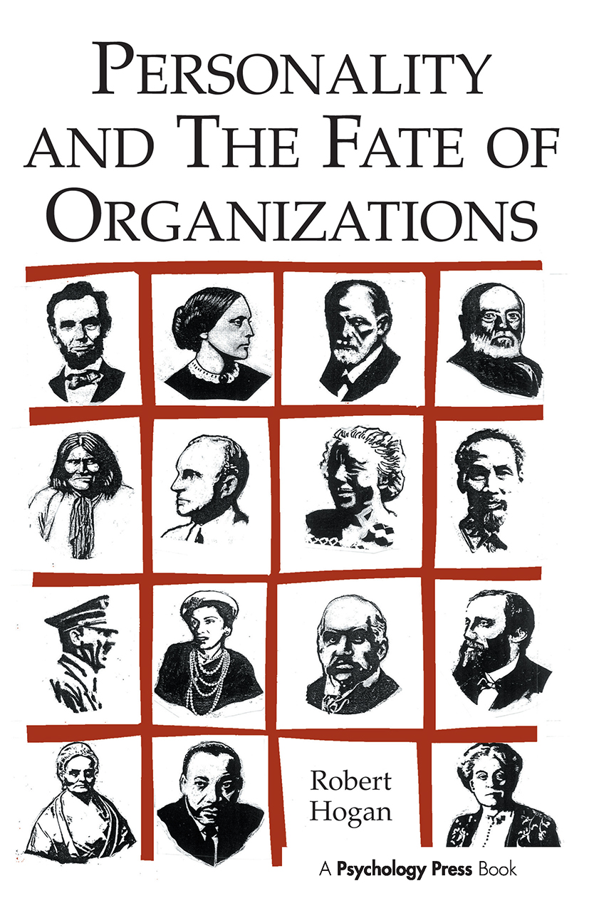 Personality and the Fate of Organizations: 1st Edition (Paperback) book cover