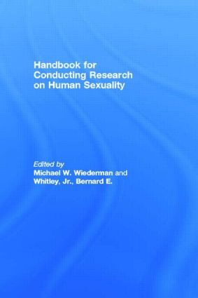 Handbook for Conducting Research on Human Sexuality (Paperback) book cover