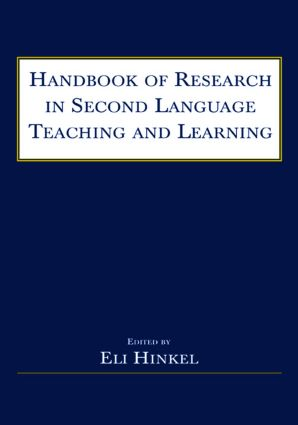 Handbook of Research in Second Language Teaching and Learning (Paperback) book cover