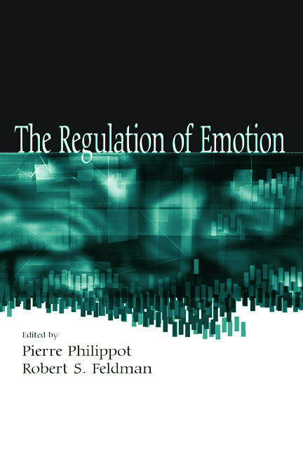 The Regulation of Emotion (Hardback) book cover