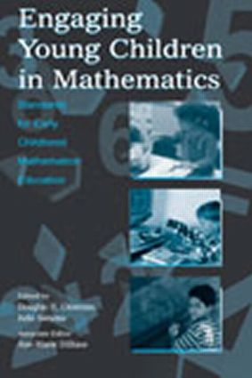 Engaging Young Children in Mathematics: Standards for Early Childhood Mathematics Education, 1st Edition (Hardback) book cover