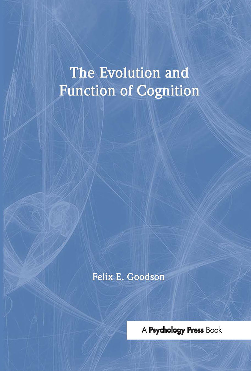 The Evolution and Function of Cognition (Paperback) book cover