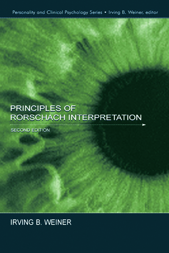 Principles of Rorschach Interpretation