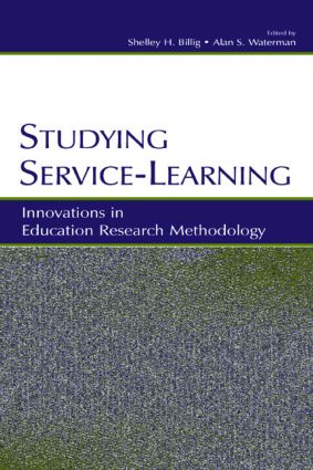 Studying Service-Learning: Innovations in Education Research Methodology (Paperback) book cover