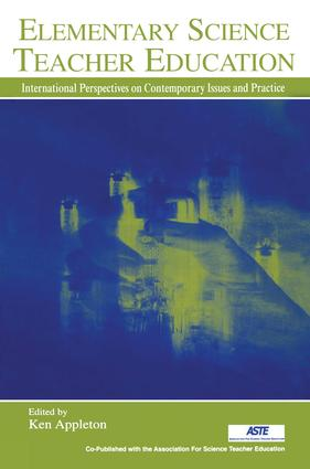 Elementary Science Teacher Education: International Perspectives on Contemporary Issues and Practice book cover