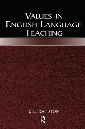 Values in English Language Teaching: 1st Edition (Paperback) book cover