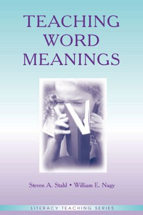 Teaching Word Meanings book cover