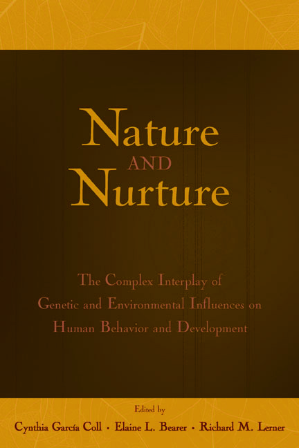 Nature and Nurture: The Complex Interplay of Genetic and Environmental Influences on Human Behavior and Development (Hardback) book cover