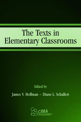 The Texts in Elementary Classrooms: 1st Edition (Paperback) book cover