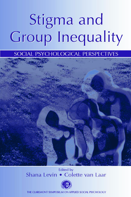 Stigma and Group Inequality: Social Psychological Perspectives book cover