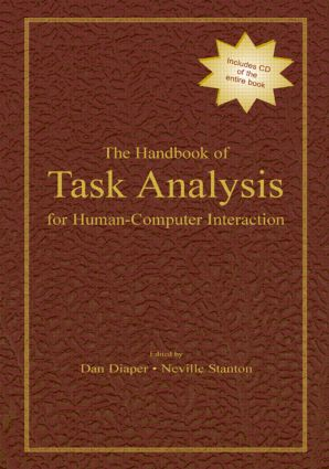 The Handbook of Task Analysis for Human-Computer Interaction: 1st Edition (Paperback) book cover
