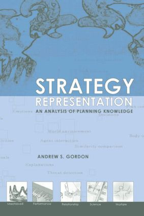 Strategy Representation: An Analysis of Planning Knowledge (Hardback) book cover