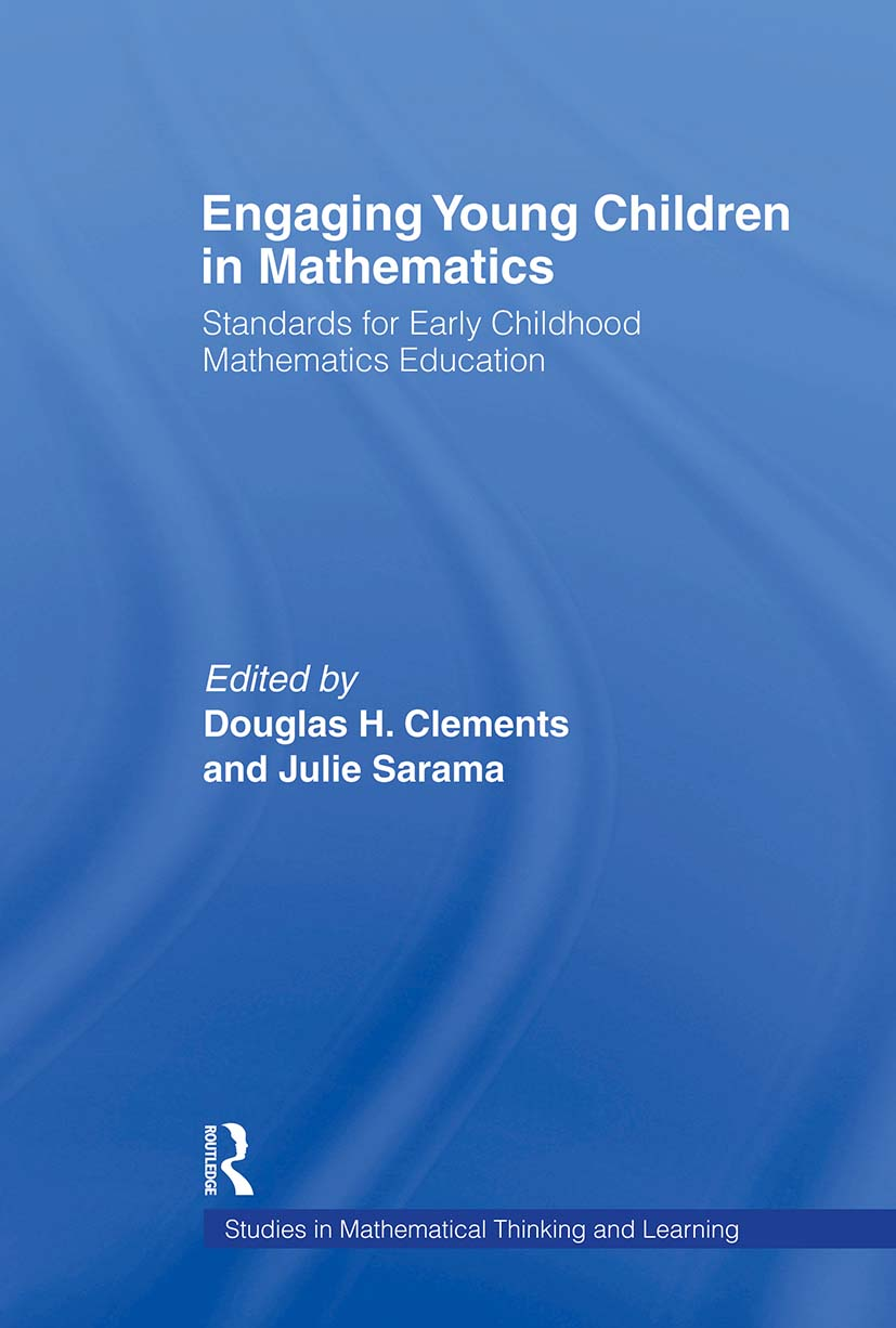 Engaging Young Children in Mathematics: Standards for Early Childhood Mathematics Education book cover