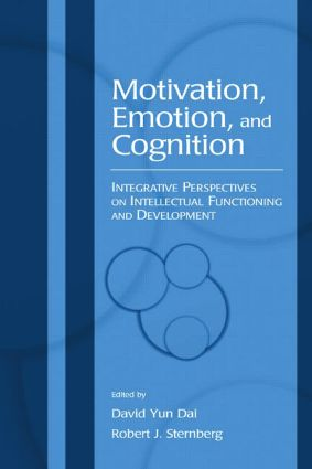 Motivation, Emotion, and Cognition: Integrative Perspectives on Intellectual Functioning and Development (Paperback) book cover