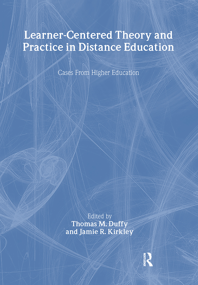 A Policy Perspective on Learning Theory and Practice in Distance Edu- cation