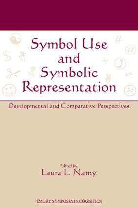 Symbol Use and Symbolic Representation: Developmental and Comparative Perspectives (Hardback) book cover