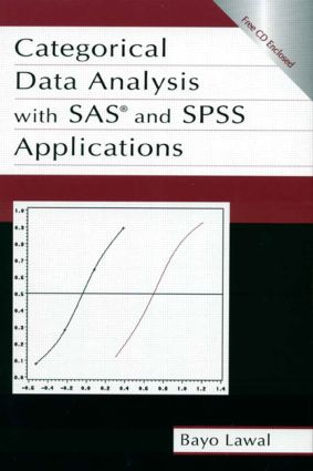 Categorical Data Analysis With Sas and Spss Applications (Hardback) book cover