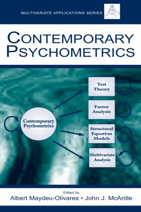 Contemporary Psychometrics (Hardback) book cover