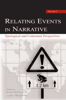 Relating Events in Narrative, Volume 2: Typological and Contextual Perspectives (Hardback) book cover