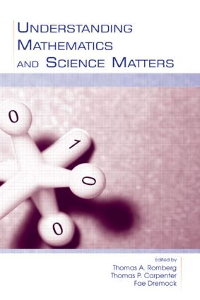 Understanding Mathematics and Science Matters: 1st Edition (Hardback) book cover