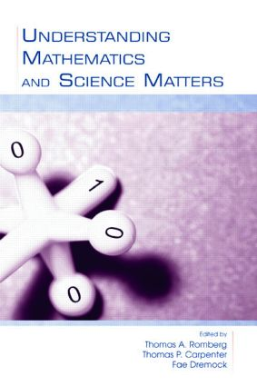 Understanding Mathematics and Science Matters book cover