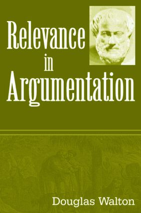 Relevance in Argumentation (Paperback) book cover