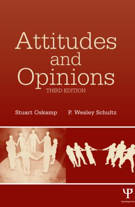 Attitudes and Opinions: 3rd Edition (Hardback) book cover