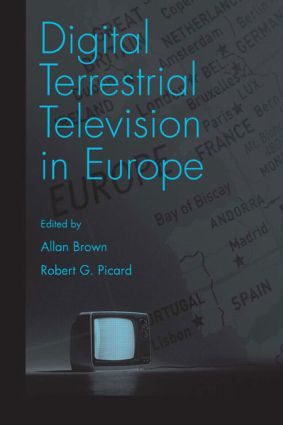 Digital Terrestrial Television in Europe book cover