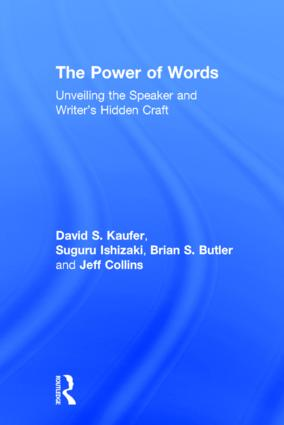 The Power of Words: Unveiling the Speaker and Writer's Hidden Craft (Hardback) book cover