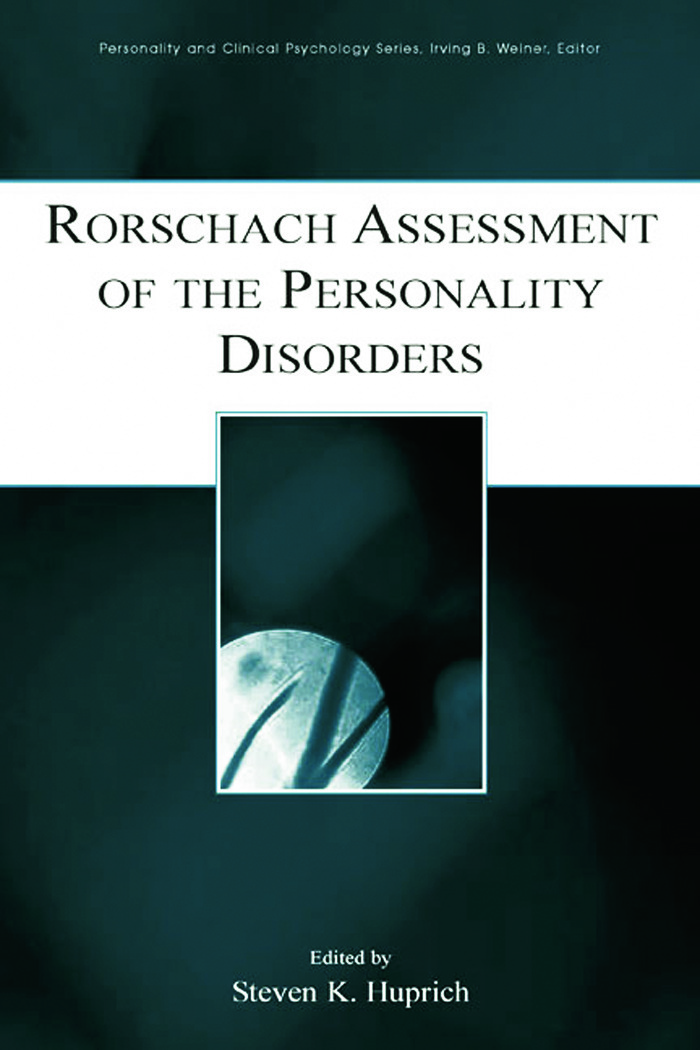 Rorschach Assessment of the Personality Disorders (Hardback) book cover