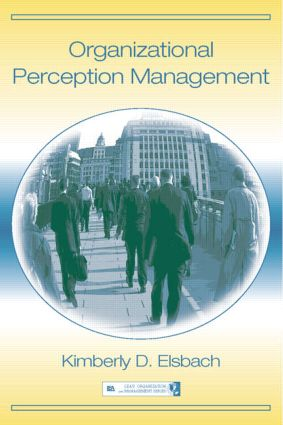 Organizational Perception Management book cover